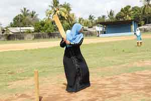 Islamic women are also sports women